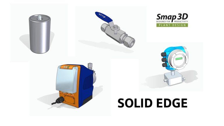 Druhá etapa Solid Edge potrubních komponent